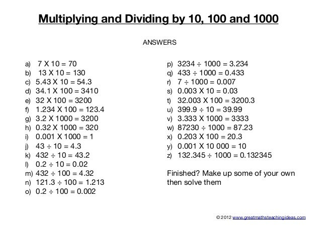 Multiplying and-dividing-by-10-100-and-1000