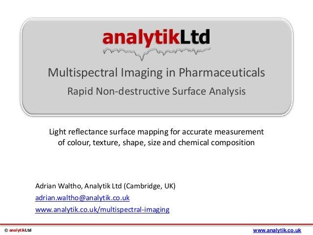 Multispectral Imaging Definition Multispectral Imaging in