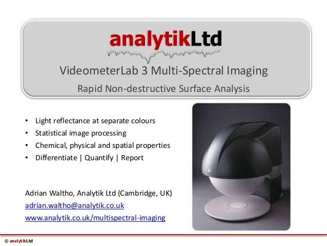 Multispectral Imaging Definition Multispectral Imaging of