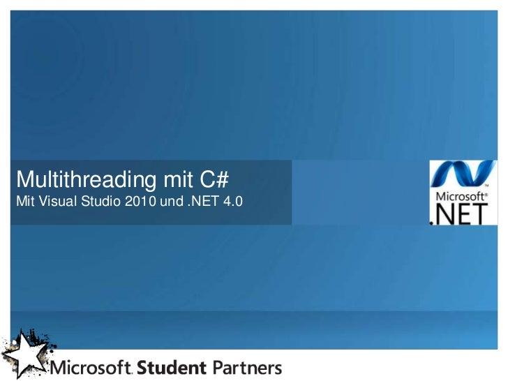 Multithreading in c# mit tpl
