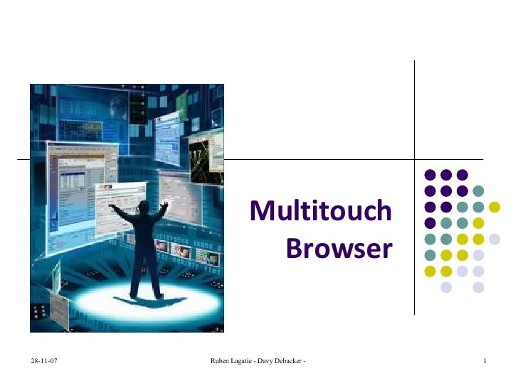 Multitouch Browser