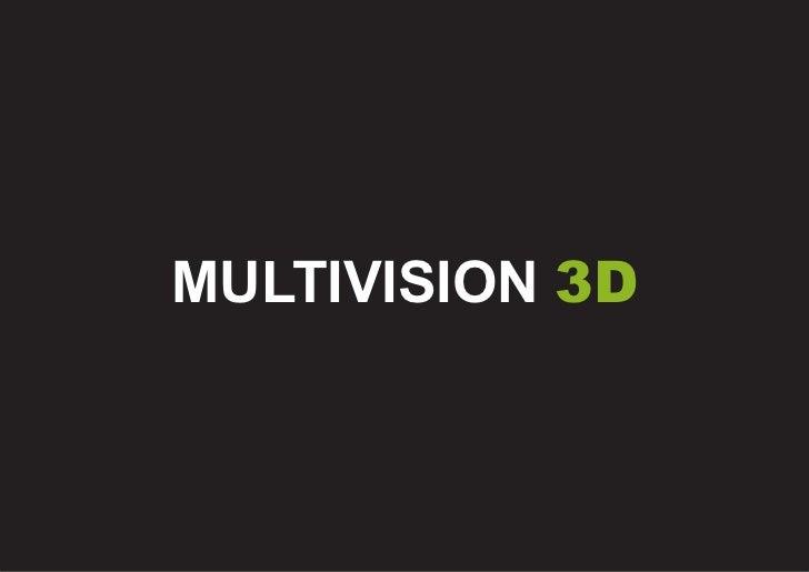 Multivision 3D  porfolio