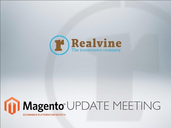 Magento Update Meeting