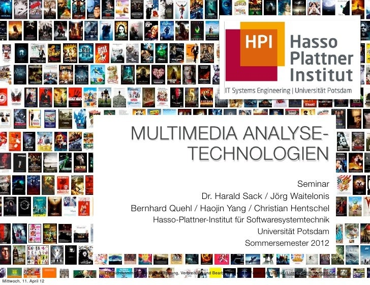 MULTIMEDIA ANALYSE-                                          TECHNOLOGIEN                                                 ...