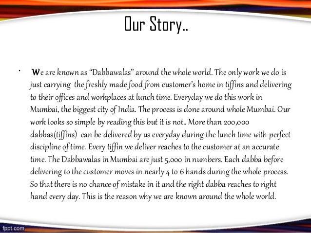 dabbawala case study