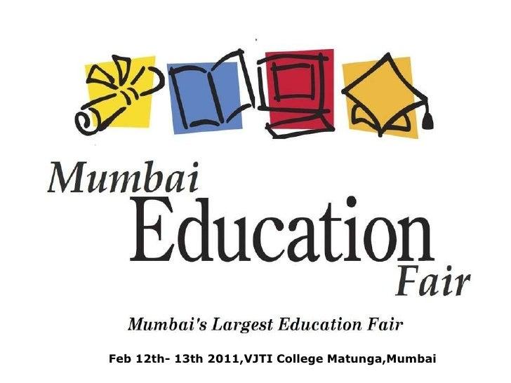 Feb 12th- 13th 2011,VJTI College Matunga,Mumbai
