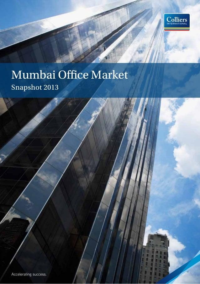 Mumbai Office Market Snapshot 2013