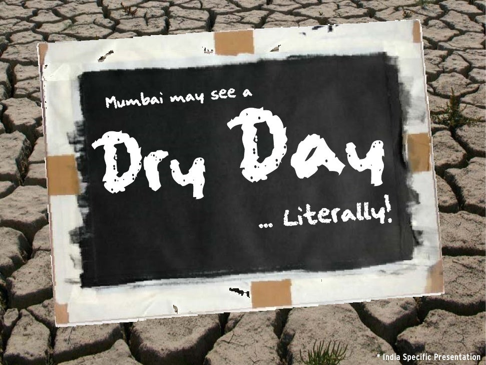 Lets take Mumbai's water crisis HEAD ON