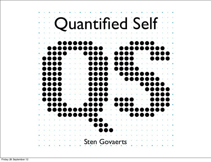 Quantified Self in the Multimedia course.