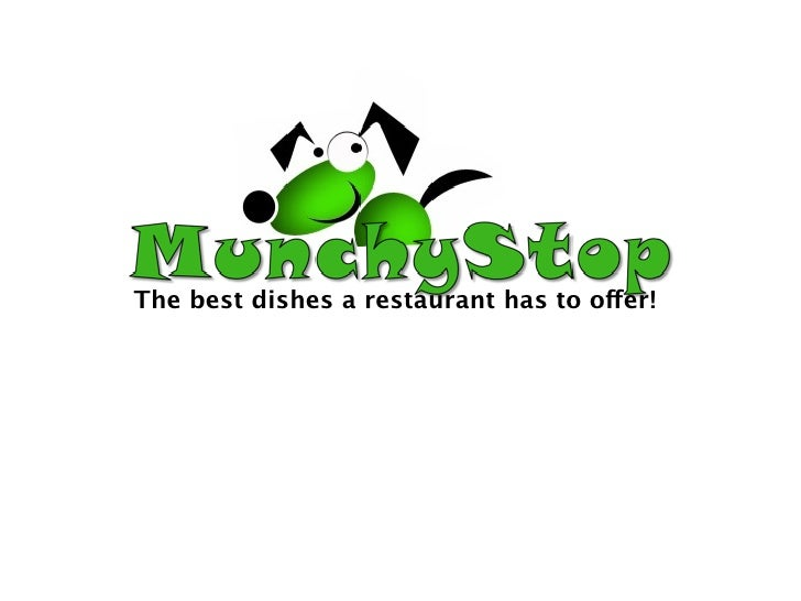 The best dishes a restaurant has to offer!