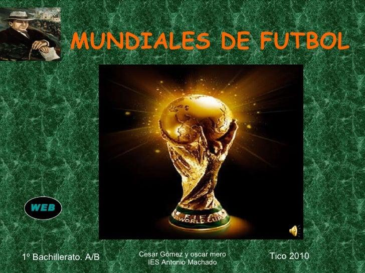 MUNDIALES DE FUTBOL WEB