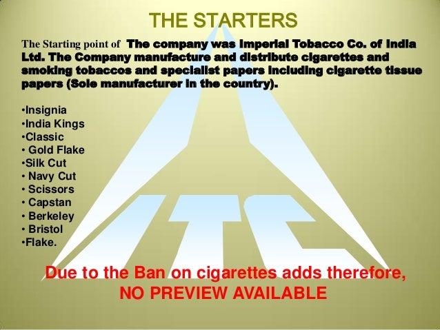itc cigarettes Itc cigarettes - download as pdf file (pdf), text file (txt) or read online.