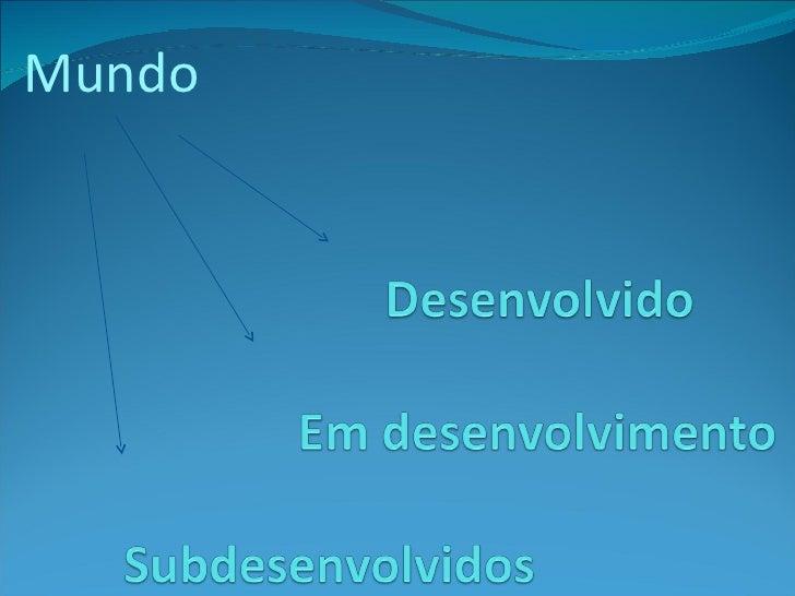www.CentroApoio.com - Vídeo Aula - Geografia - Mundo Desenvolvido
