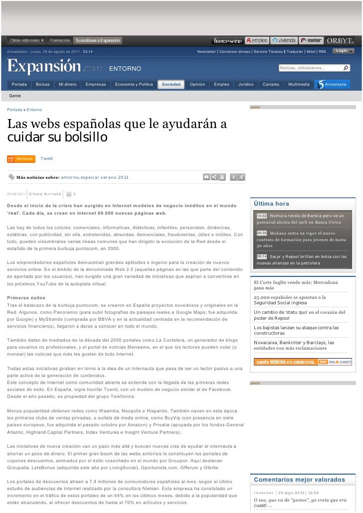 Actualizado:Lunes,29deagostode2011. 23:14                                                Newsletter Conversor divi...