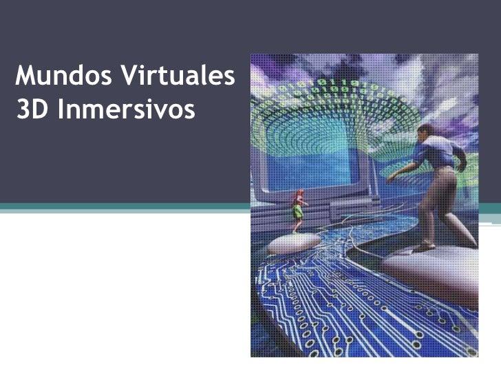 Mundos virtuales presentación
