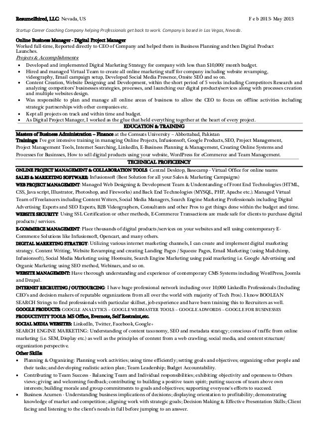 math homework help free clairemont digital marketing resume tips - Professional Marketing Resume