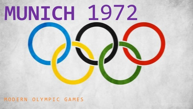 MUNICH 1972MODERN OLYMPIC GAMES