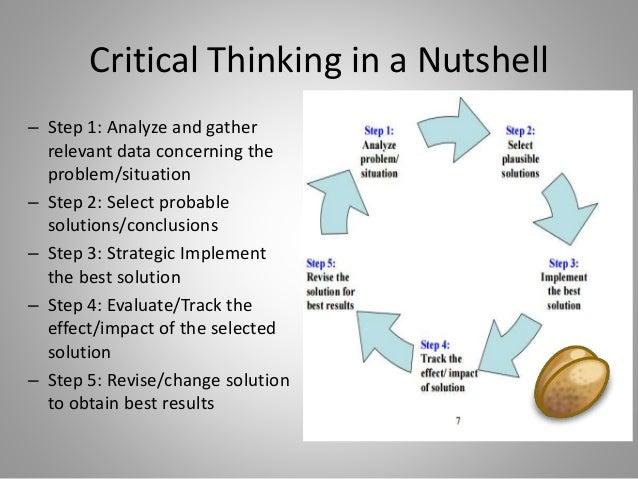 Critical thinking journals