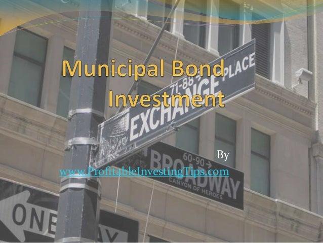 Municipal Bond Investment