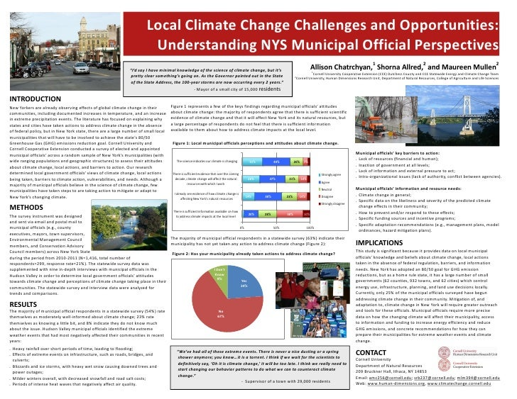 Local Climate Change Challenges and Opportunities:                                                                       U...