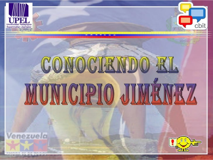 Conociendo El Municipio Jiménez