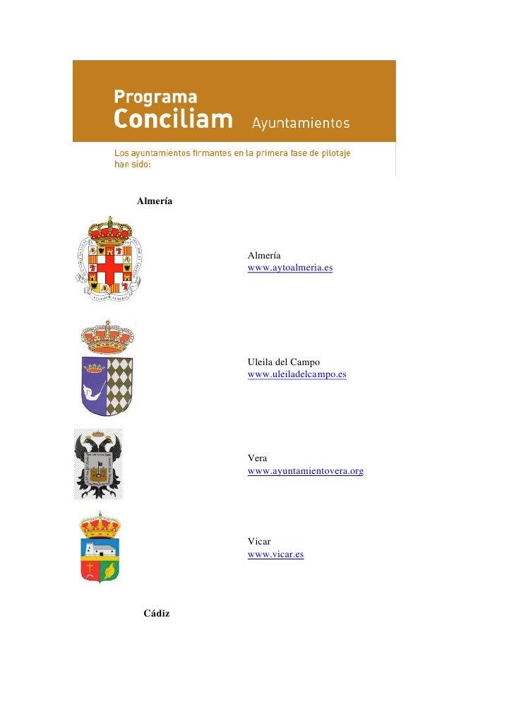 Municipios aderidos34