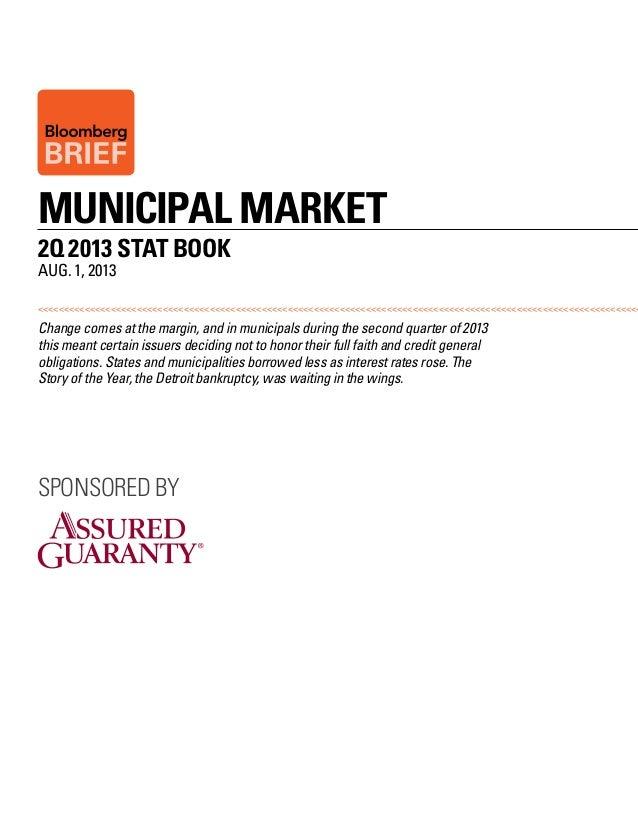 Bloomberg Municipal Market Q2 StatBook