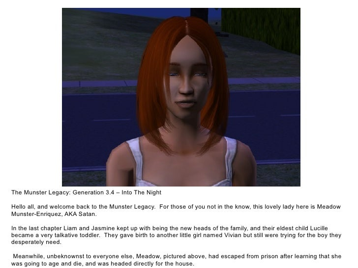 The Munster Legacy: Generation 3.4 – Into The Night  Hello all, and welcome back to the Munster Legacy. For those of you n...