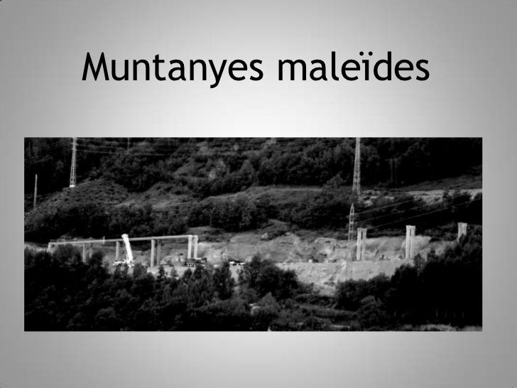 Muntanyes maleïdes