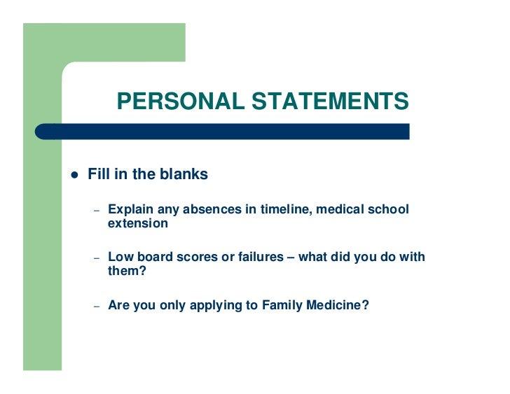 successful vet school personal statements