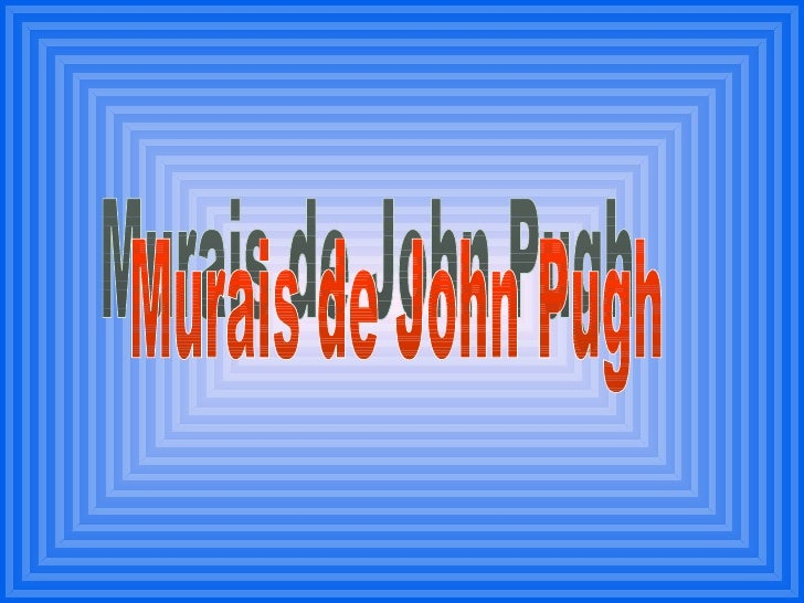 Murais de John Pugh