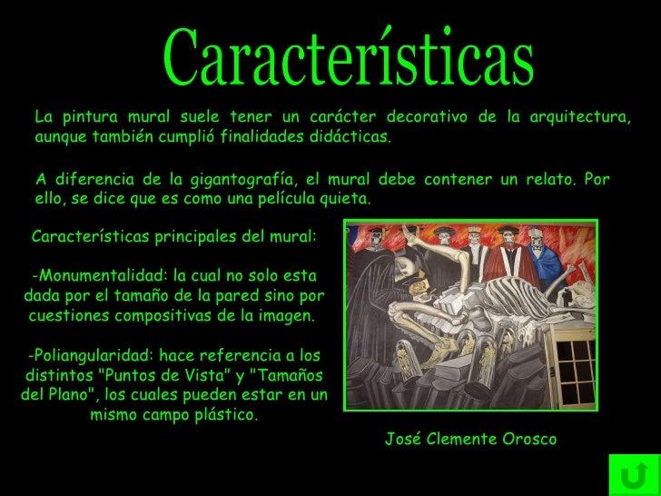 Resultado de imagen para CARACTERISTICA DE LOS MURALES