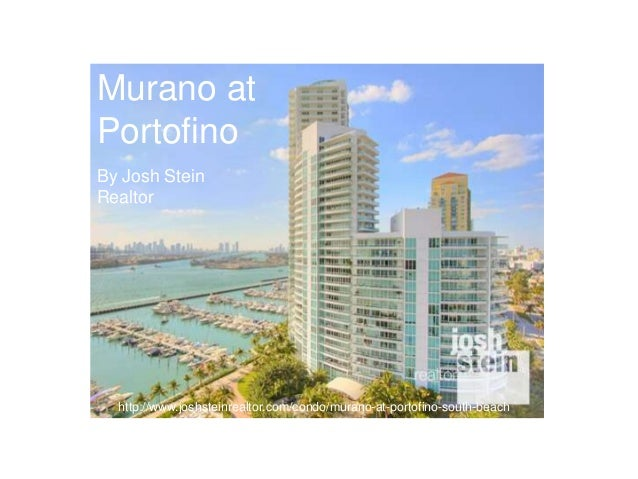 Murano at Portofino By Josh Stein Realtor  http://www.joshsteinrealtor.com/condo/murano-at-portofino-south-beach