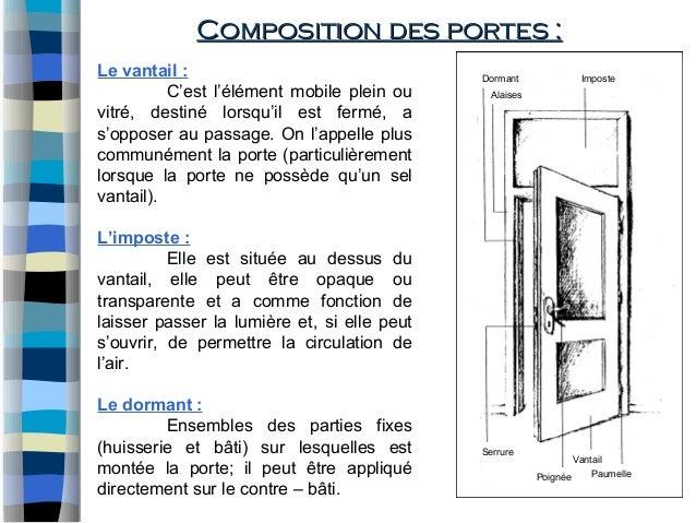 Murs rideaux et menuiserie for Chambranle de la porte