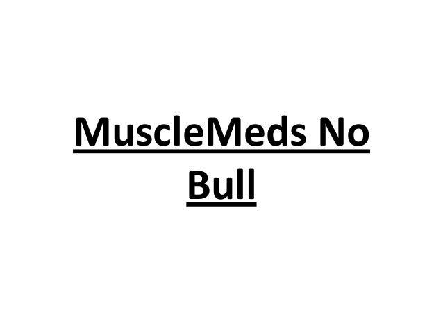 MuscleMeds No Bull