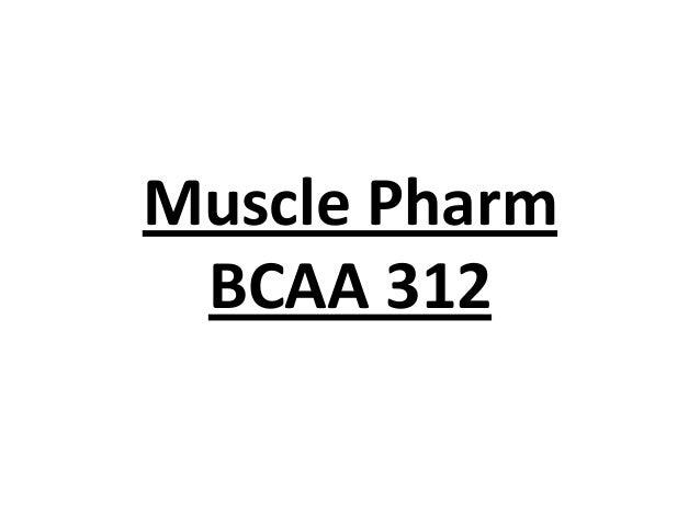 Muscle Pharm BCAA 312
