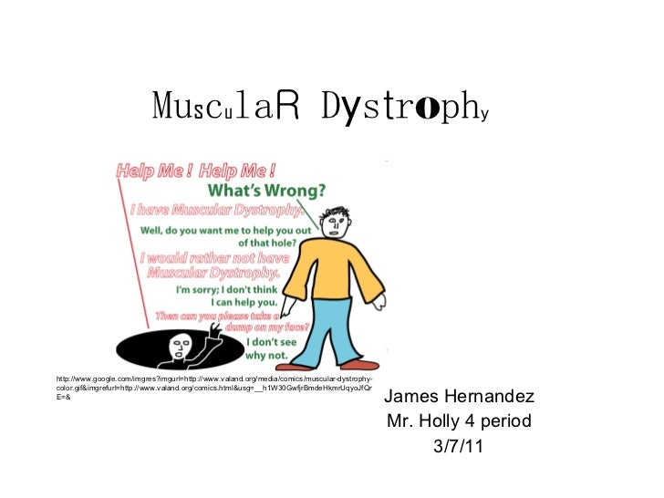 Mu s c u la R  D y s t r o ph y James Hernandez Mr. Holly 4 period 3/7/11 http://www.google.com/imgres?imgurl=http://www.v...