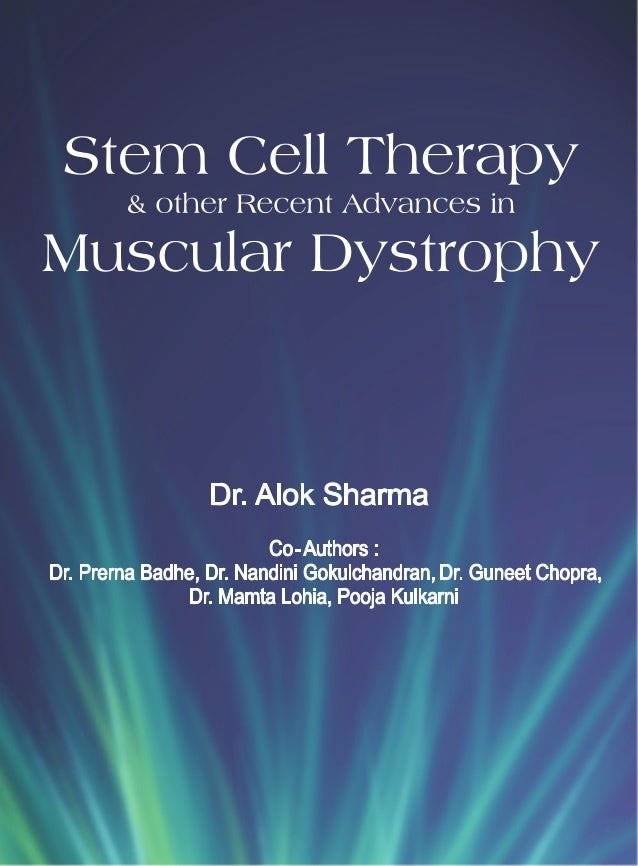 Stem Cell Therapy & Other Recent Advances in Muscular dystrophy