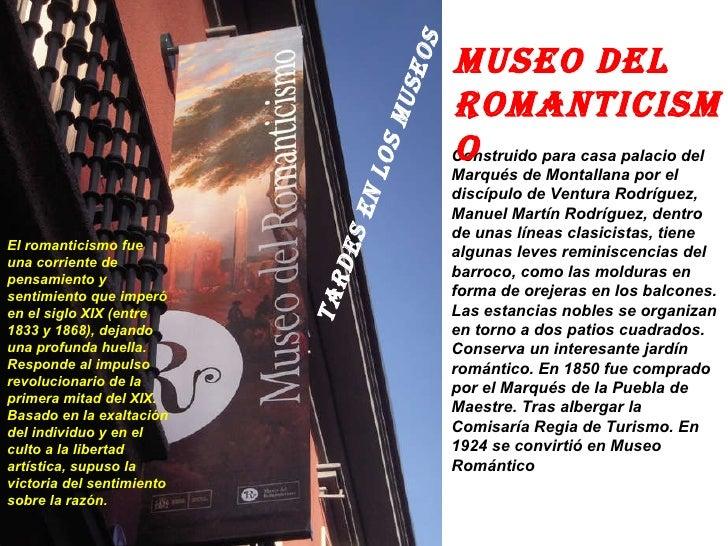 Museo del romanticismo c