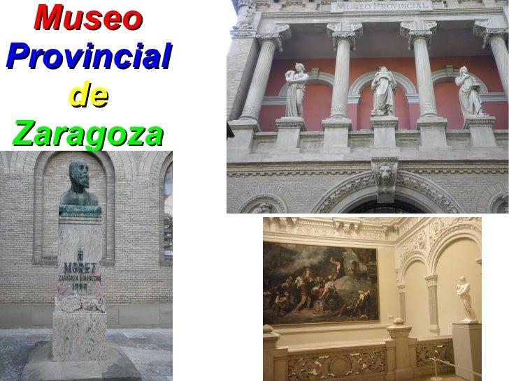 MuseoProvincial   deZaragoza