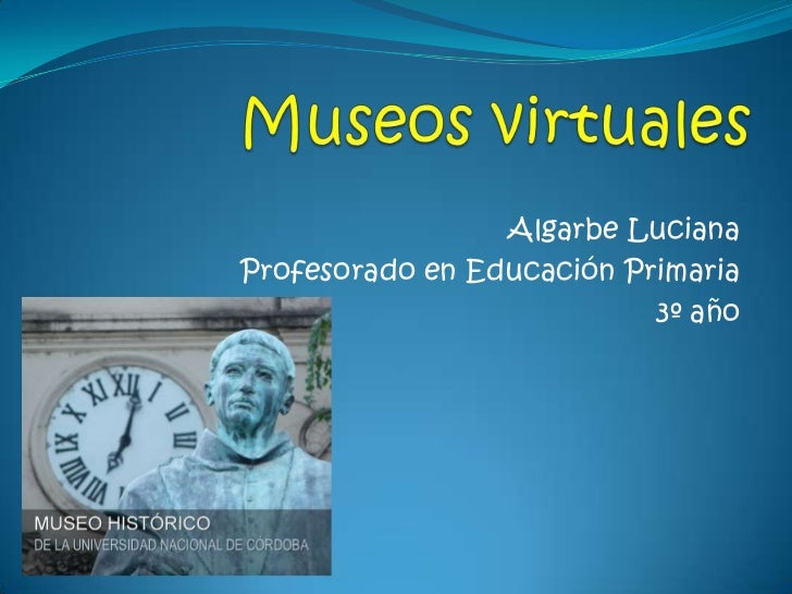 Algarbe LucianaProfesorado en Educación Primaria                           3º año