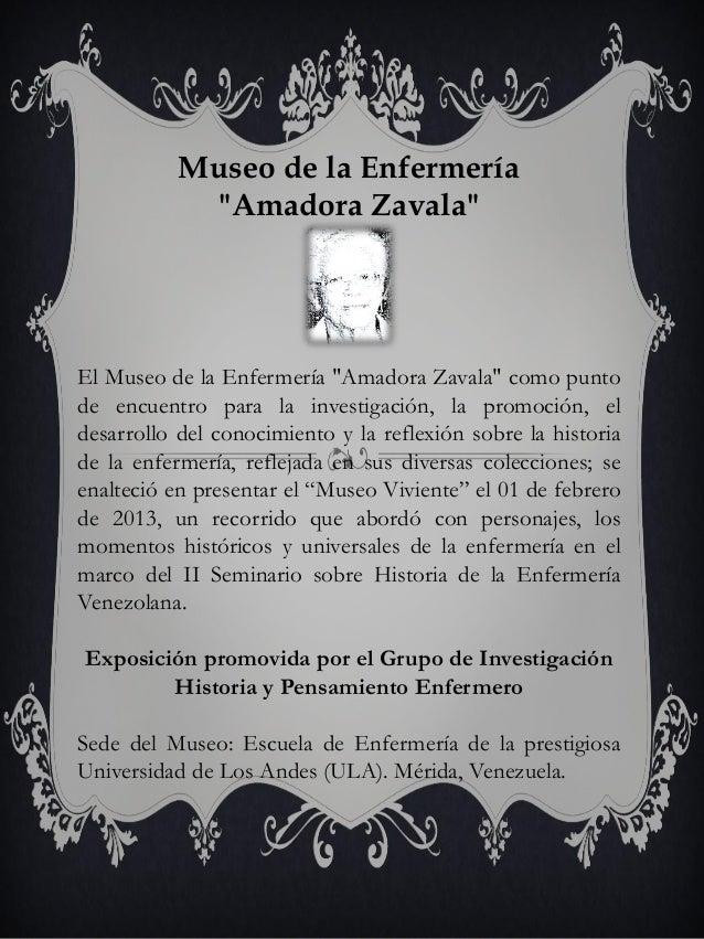 """Museo de la Enfermería """"Amadora Zavala""""  El Museo de la Enfermería """"Amadora Zavala"""" como punto de encuentro para la invest..."""