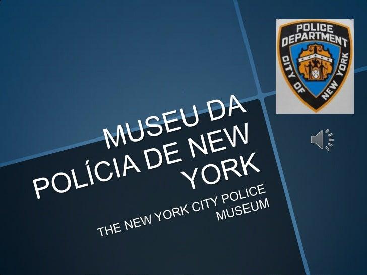 Museu da polícia de new york