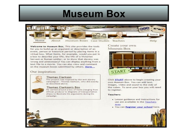 How to use Museum Box