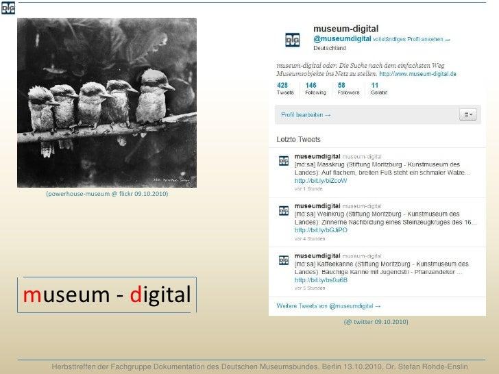 museum-digital: Ideen entwickeln, Ideen aufgreifen, den Weg finden - und ihn gehen!
