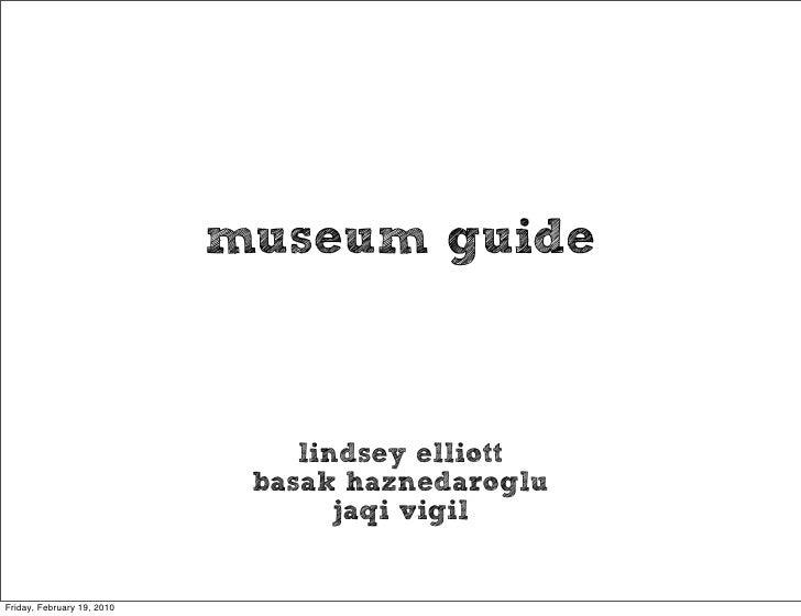 Museum Final Presentation