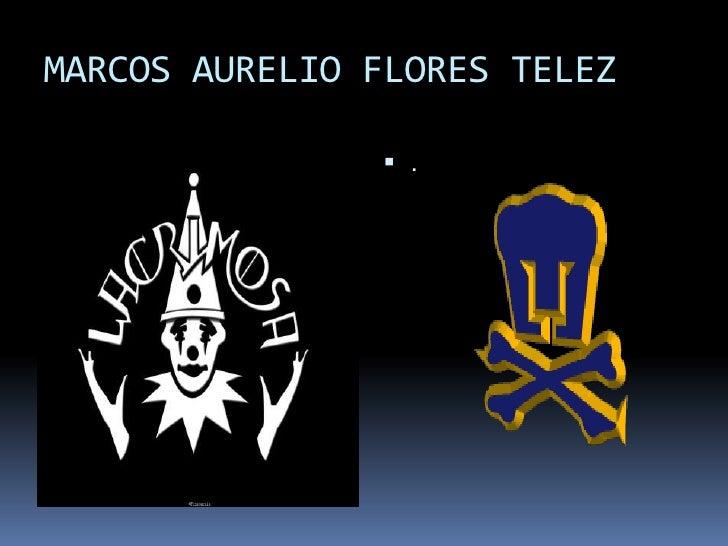 MARCOS AURELIO FLORES TELEZ<br />.<br />