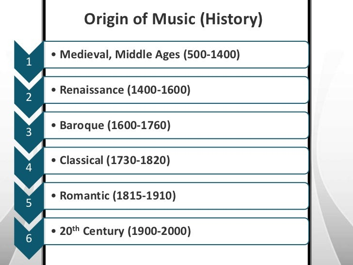an introduction to the history of music during the middle ages Introduction to the middle ages christianity more intellectually significant periods in history is misleading the middle ages was not a time of ignorance and backwardness the geographical boundaries for european countries today were established during the middle ages.