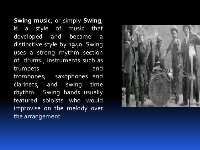 brief history of swing music 3