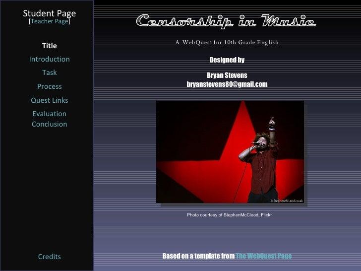 Music and Censorship - UK Essays | UKEssays